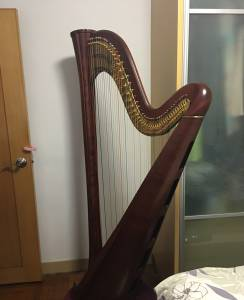 Harp wo Dust Cover
